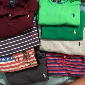8 polo 4t boys shirts